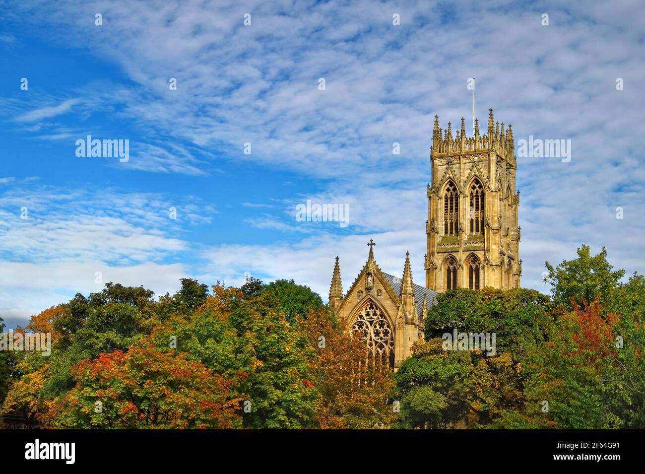 UK,South Yorkshire,Doncaster,St George's Church Banque D'Images