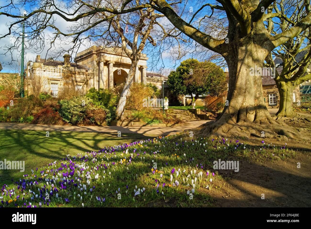 Royaume-Uni, Yorkshire Du Sud, Sheffield, Jardins Botaniques, Le Gatehouse À Clarkehouse Road Banque D'Images