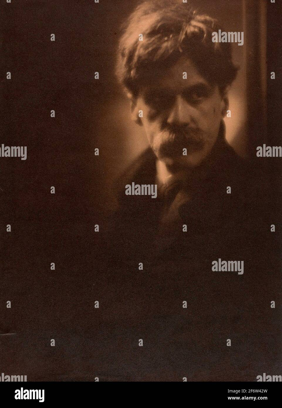 Clarence H. blanc. Alfred Stieglitz-1907/08-Clarence H. White American, 1871-1925. Imprimé platine. 1907-1908. États-Unis. Banque D'Images