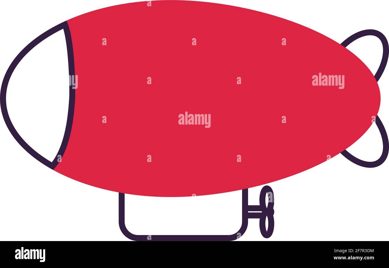 icône rouge Illustration de Vecteur
