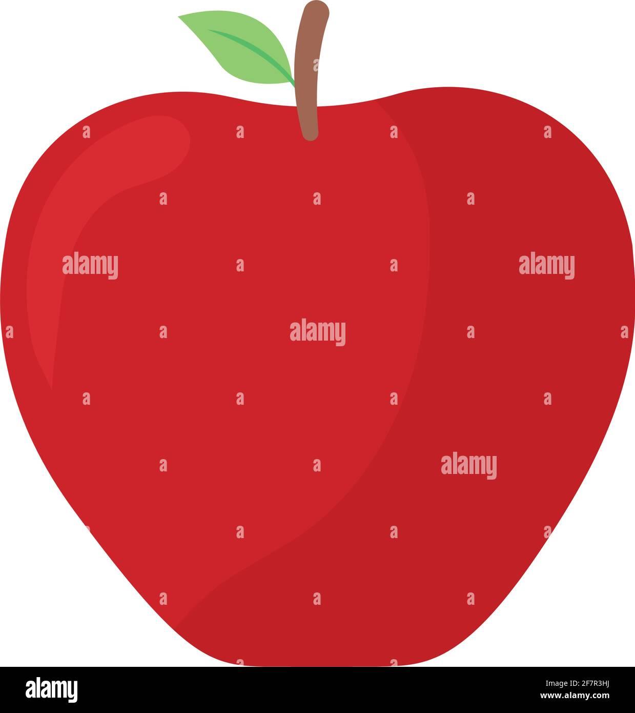 icône de pomme saine Illustration de Vecteur