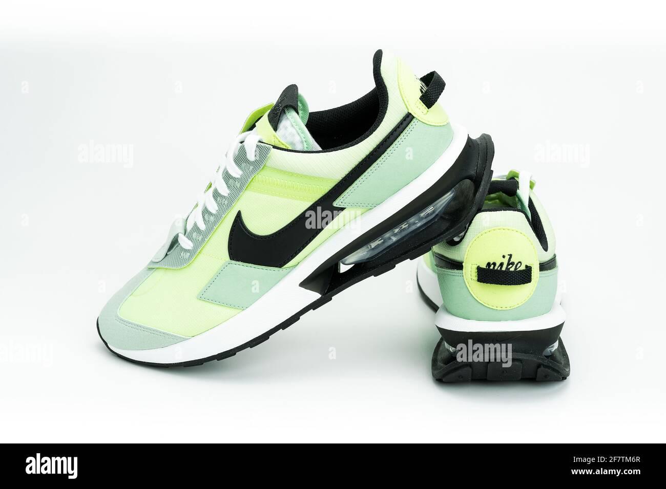 MONTERREY, MEXIQUE - 29 mars 2021 : chaussures Nike Air Max Pre ...