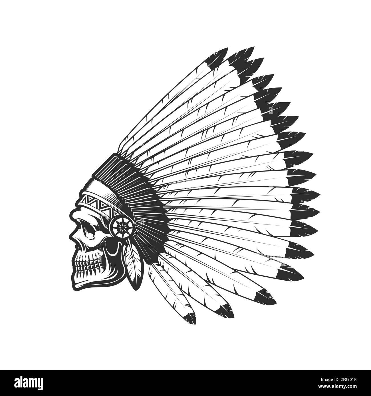 L'indienne blanche Cherokke