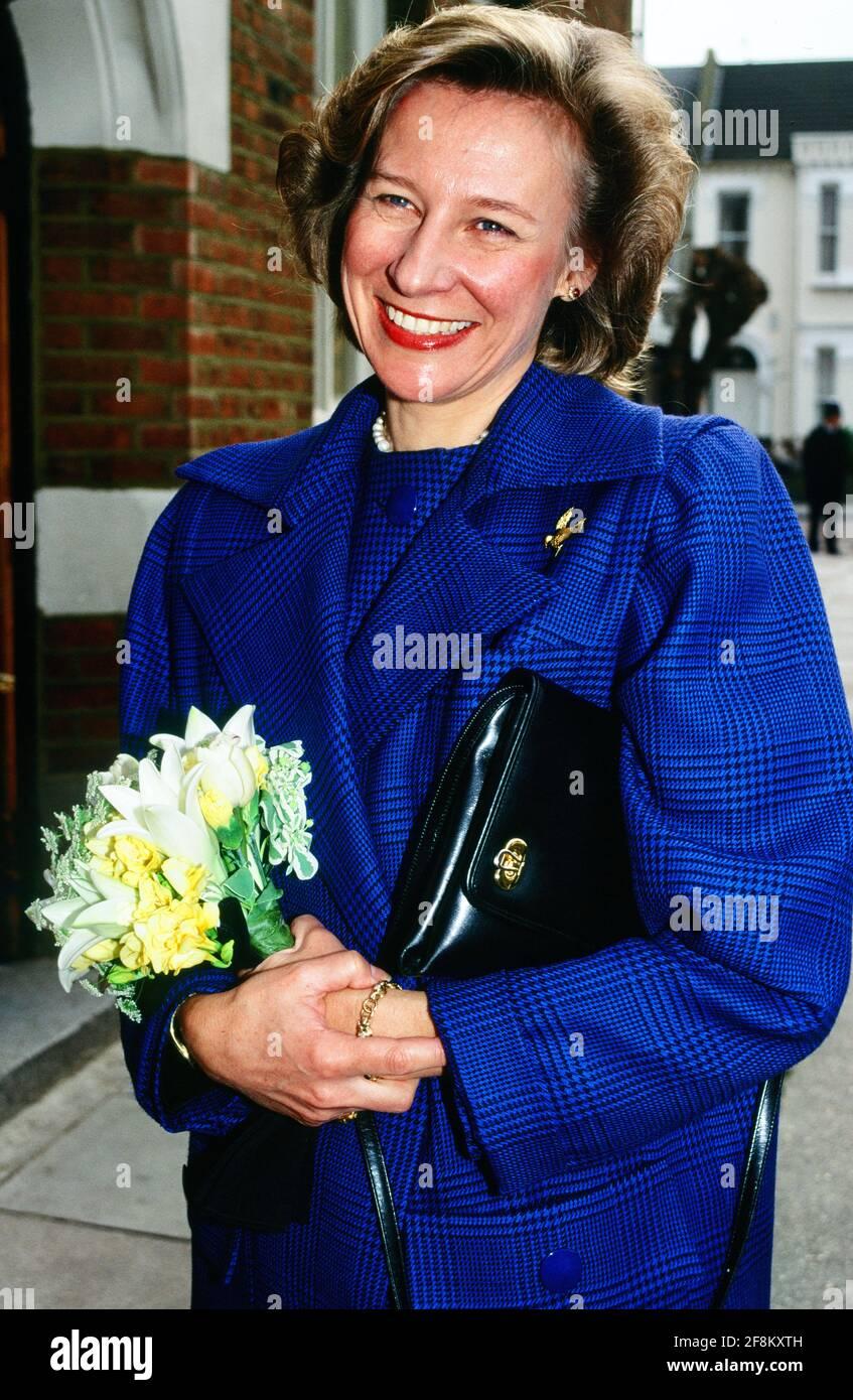 Birgitte, la duchesse de Gloucester. Banque D'Images