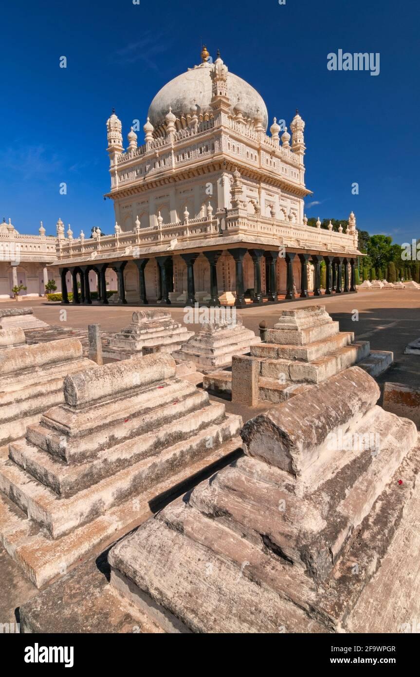 Le Gumbaz Srirangapatnam Mysore Karnataka Inde Banque D'Images