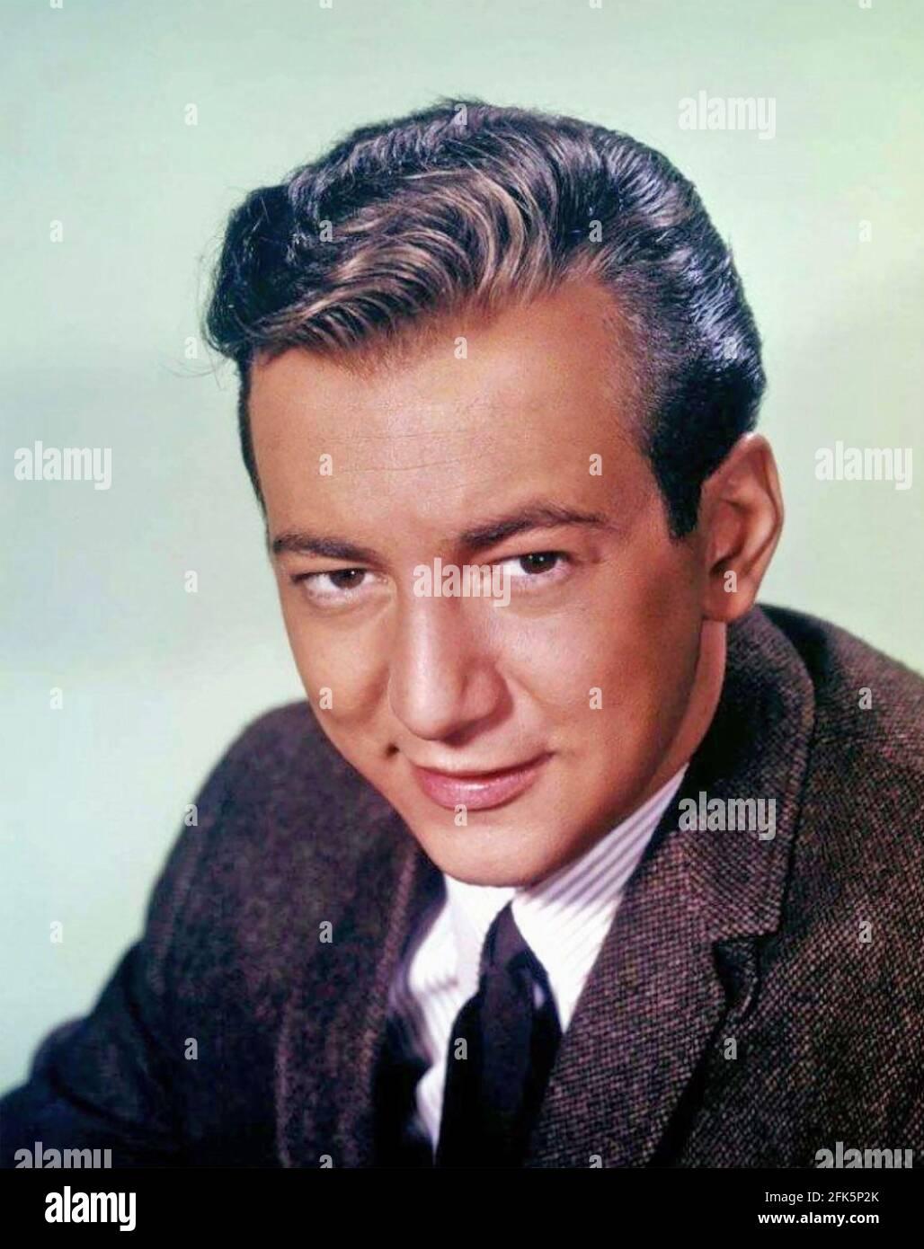BOBBY DARIN (1936-1973) chanteur et acteur américain vers 1960 Banque D'Images