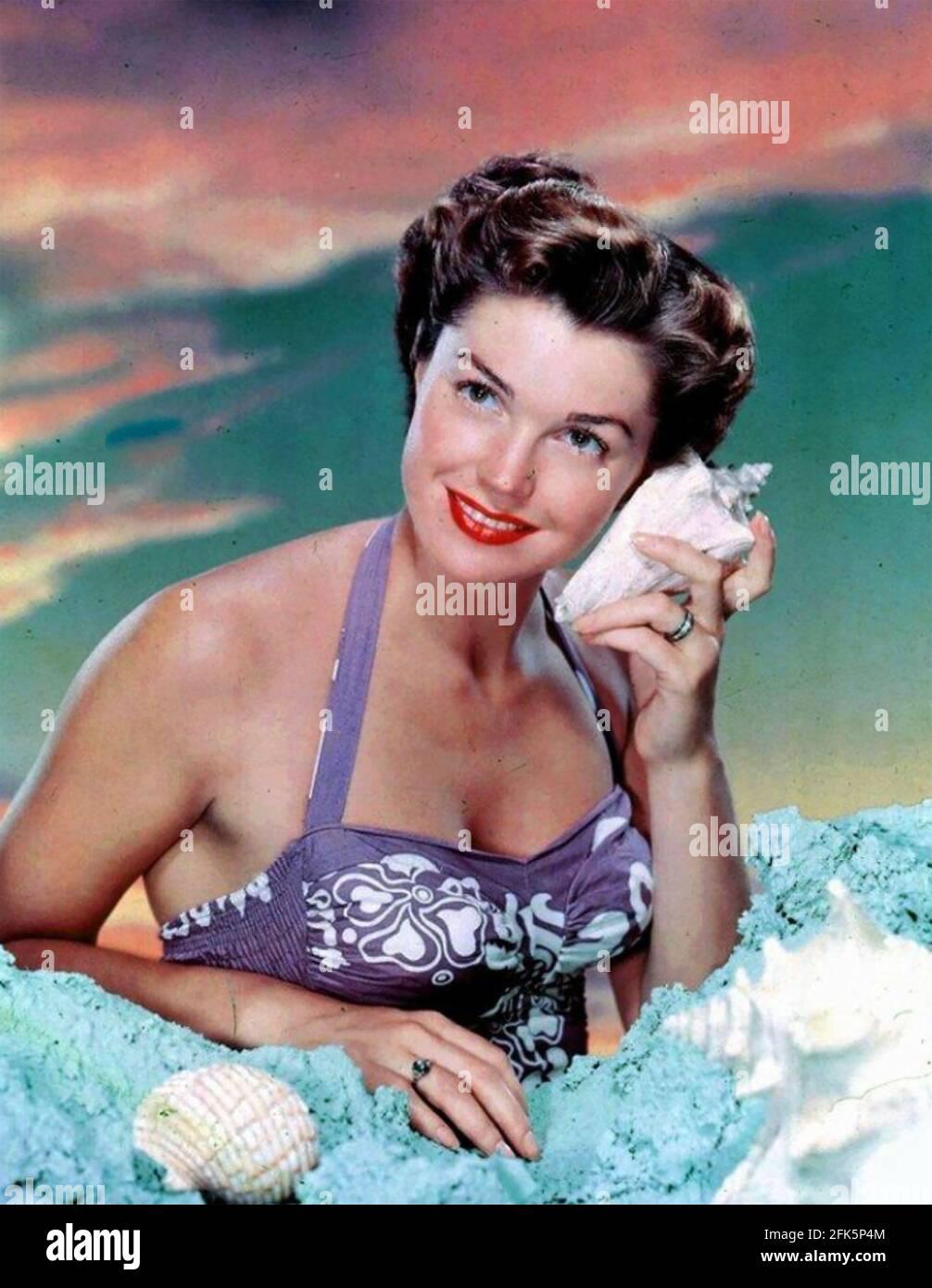 ESTHER WILLIAMS (1921-2013) nageur et actrice américaine en 1950 Banque D'Images