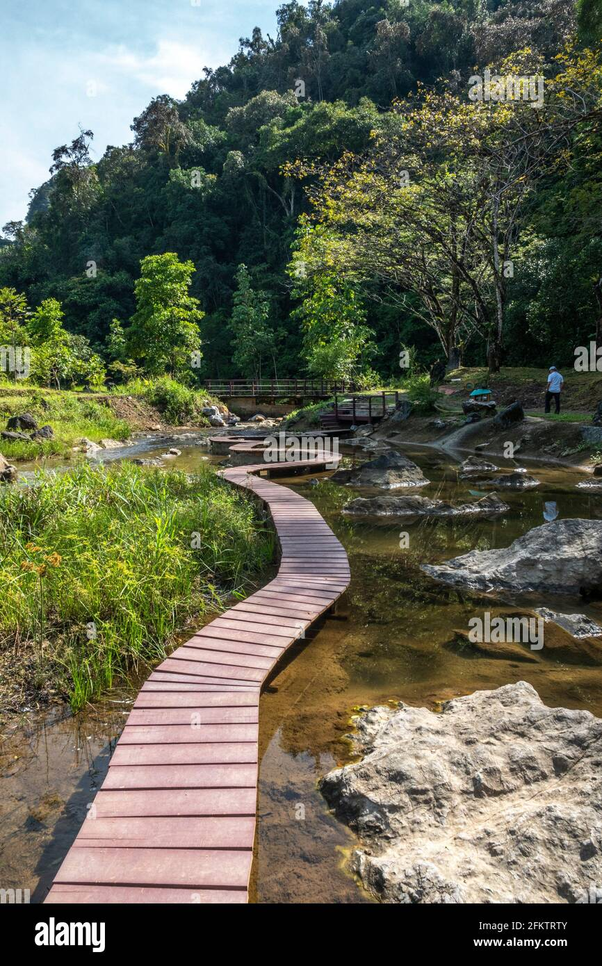 Abba Paradise, Taiton, Bau, Sarawak, Malaisie orientale Banque D'Images