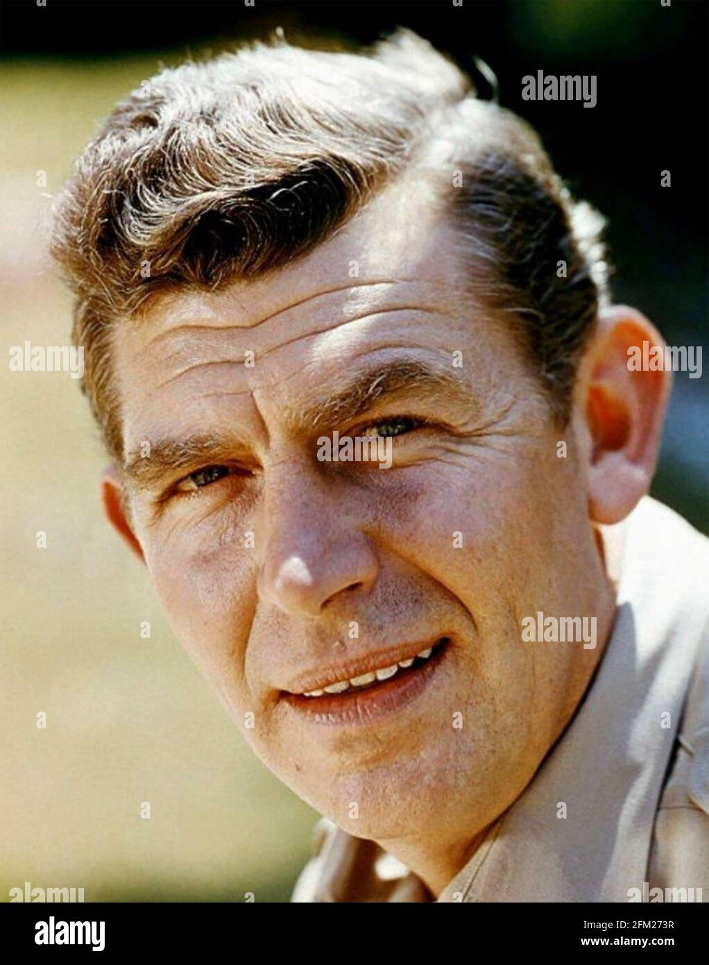 ANDY GRIFFITH (1926-2012) acteur et producteur de films américains 1960 Banque D'Images