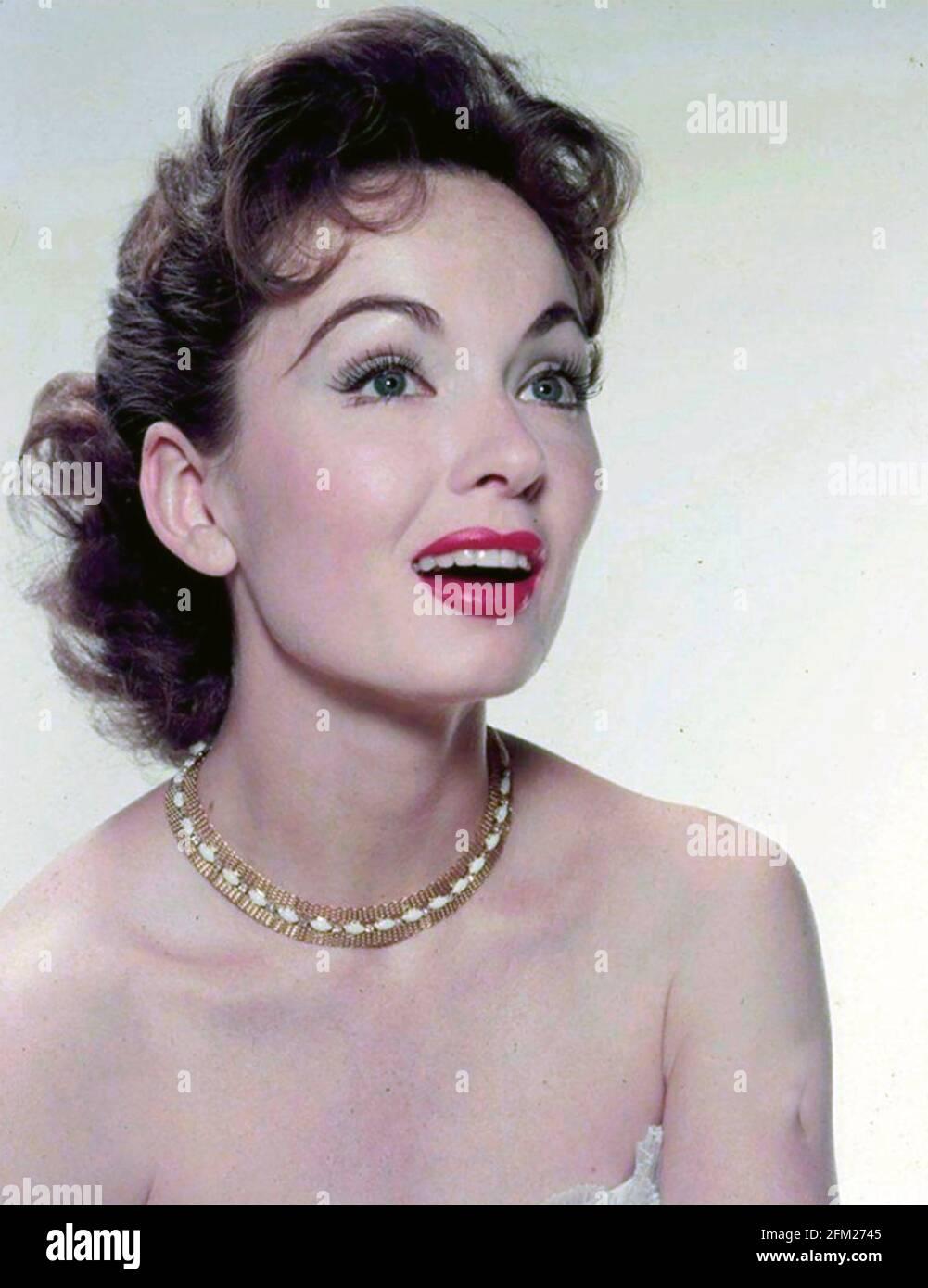 ANN BLYTH actrice et chanteuse américaine vers 1950 Banque D'Images