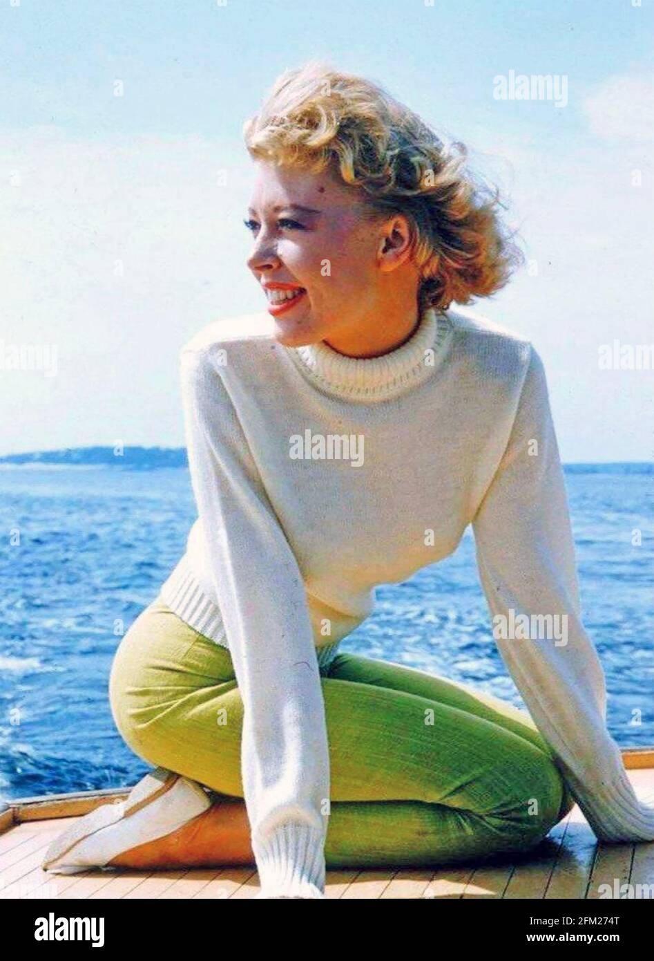 ANNE HEYWOOD actrice anglaise vers 1966 Banque D'Images