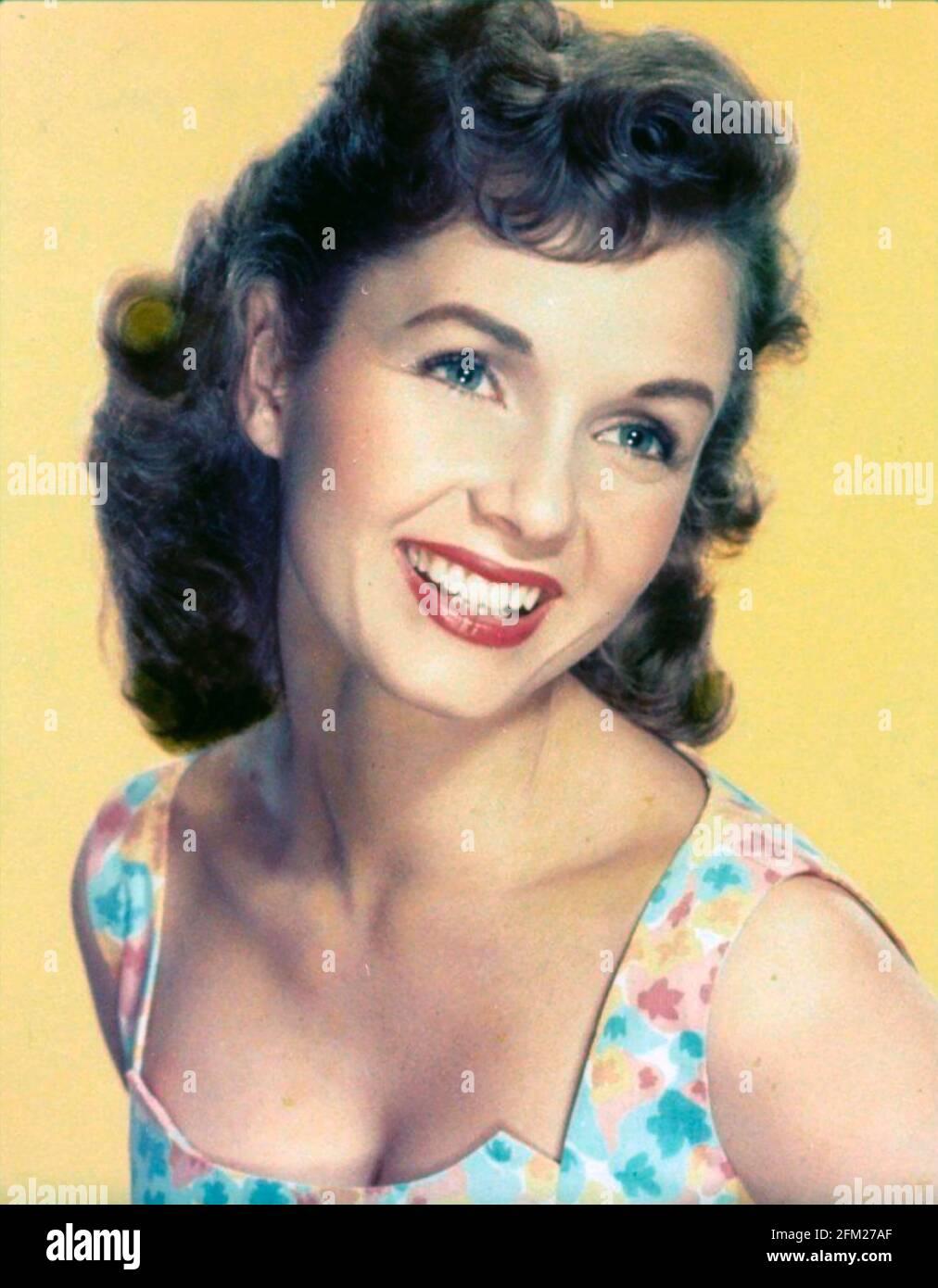 DEBBIE REYNOLDS (1932-2016) actrice et chanteuse américaine vers 1960 Banque D'Images