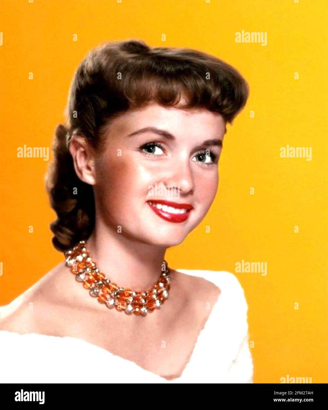 DEBBIE REYNOLDS (1932-2016) actrice et chanteuse américaine vers 1955 Banque D'Images