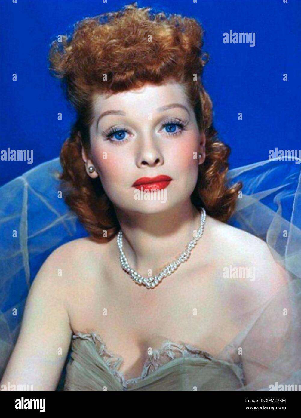 LUCILLE BALL (1911-1989) actrice, comédienne et productrice américaine de cinéma et de télévision vers 1965 Banque D'Images