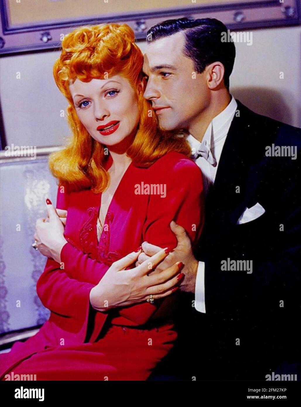 DU BARRY ÉTAIT UN FILM LADY 1943 MGM avec Lucille Ball et Gene Kelly Banque D'Images