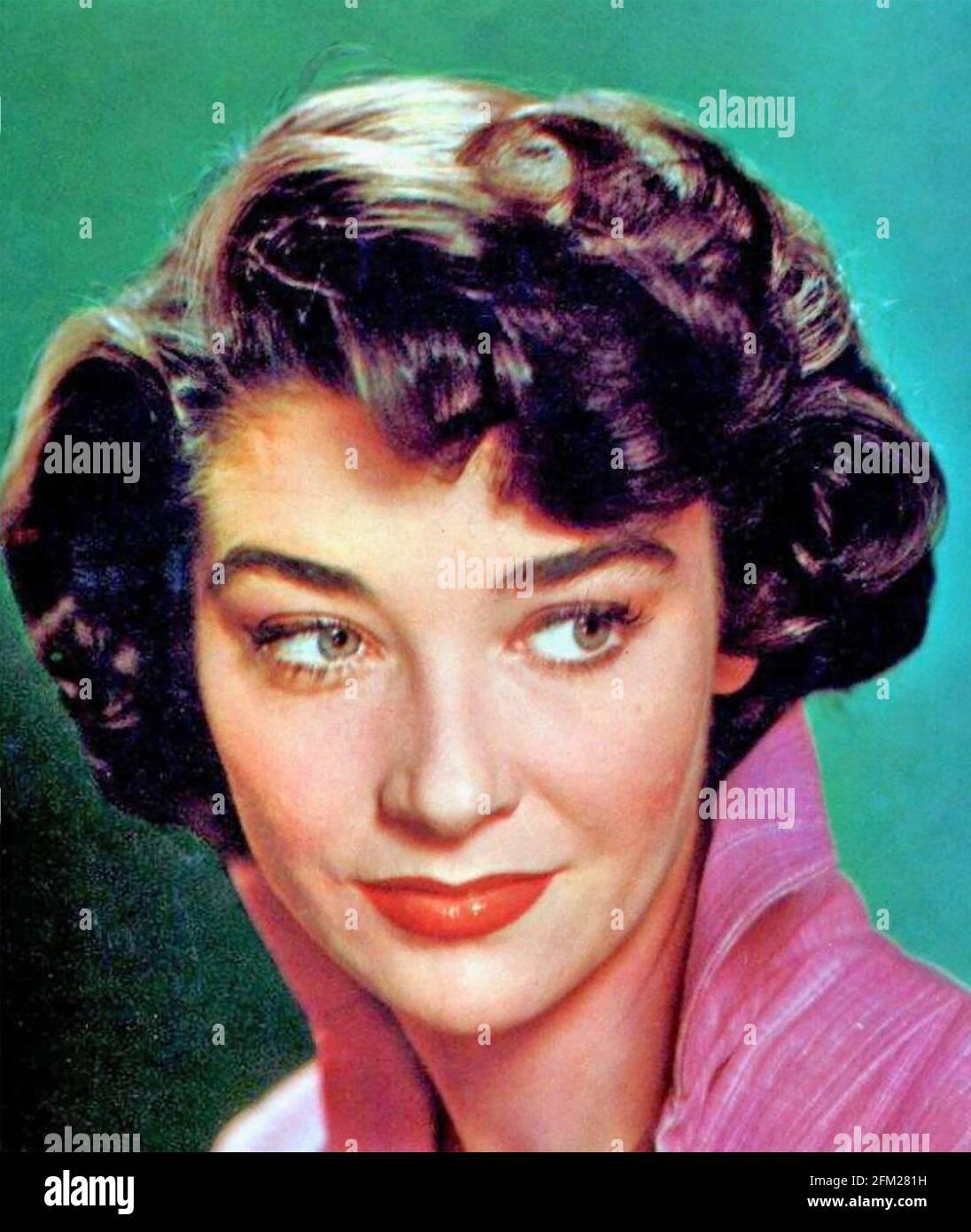 VIRGINIA LEITH (1925-2019) actrice américaine de cinéma et de télévision vers 1960 Banque D'Images