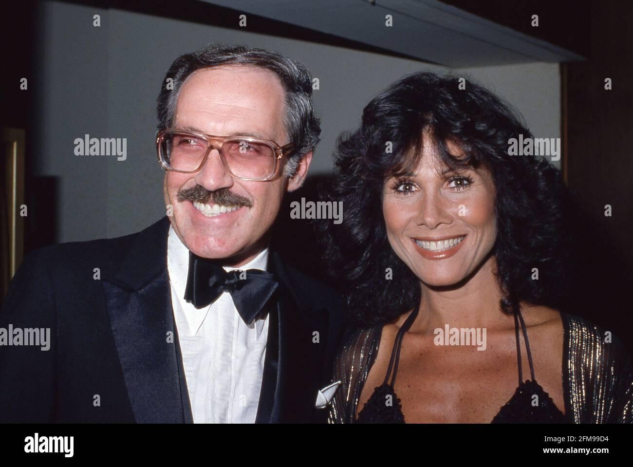Jack Heller et Michele Lee Circa années 1980 crédit: Ralph Dominguez/MediaPunch Banque D'Images