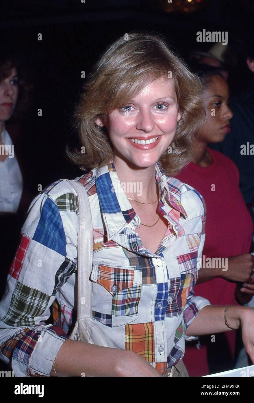 Marla Pennington Circa années 80 crédit: Ralph Dominguez/MediaPunch Banque D'Images