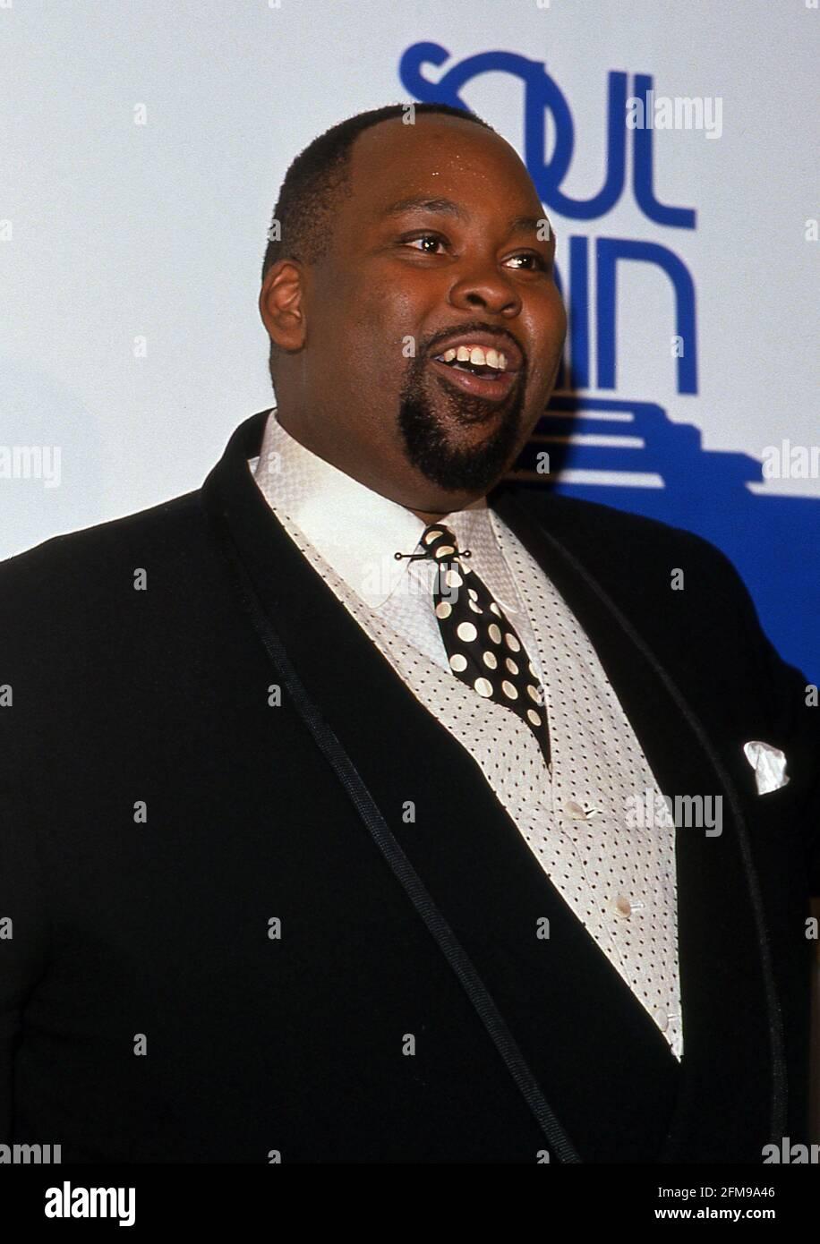 David Peaston au 4e Soul train Music Awards au Shrine Auditorium de Los Angeles, Californie 14 mars 1990 crédit : Ralph Dominguez/MediaPunch Banque D'Images