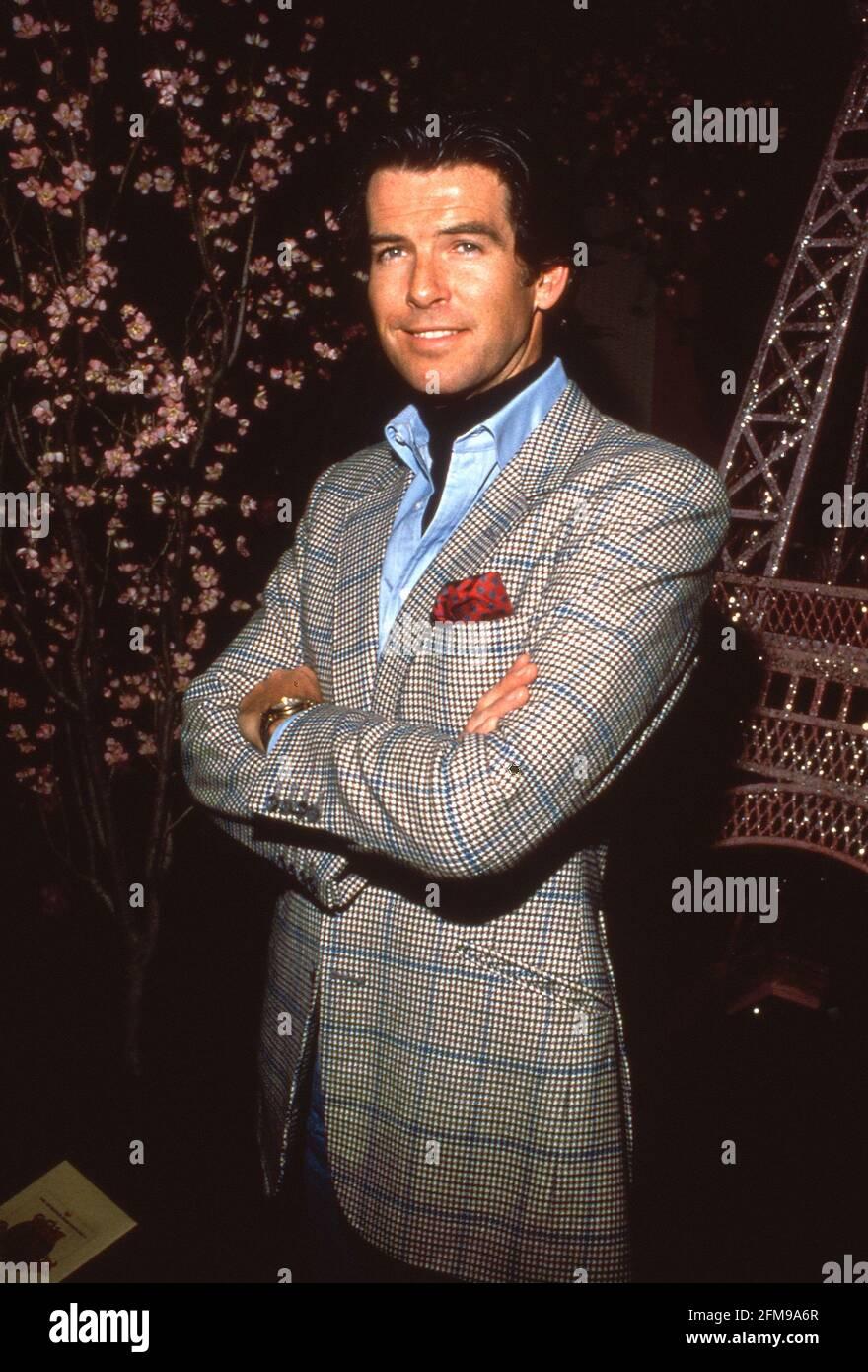 Pierce Brosnan Circa années 80 crédit: Ralph Dominguez/MediaPunch Banque D'Images