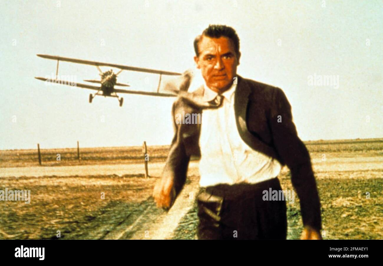 NORTH BY NORTHWEST 1959 MGM film avec Cary Grant Banque D'Images