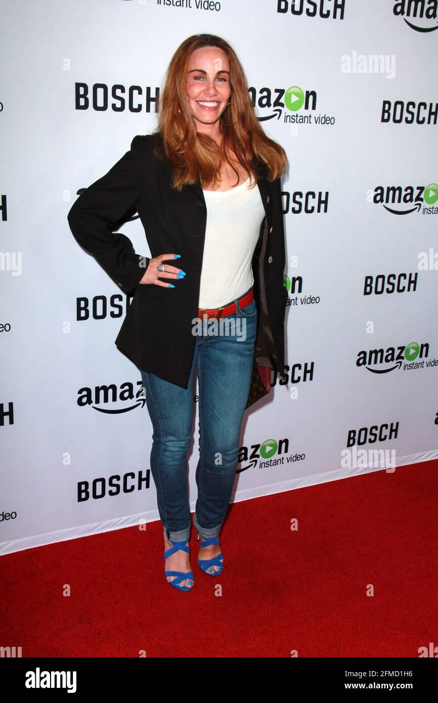 HOLLYWOOD, CA - 3 FÉVRIER : Tawny Kitaen à la première projection de tapis rouge Amazon « Bosch » au Cinerama Dome à Hollywood, Californie, le 3 février 2015. Crédit : David Edwards/DailyCeleb/MediaPunch Banque D'Images