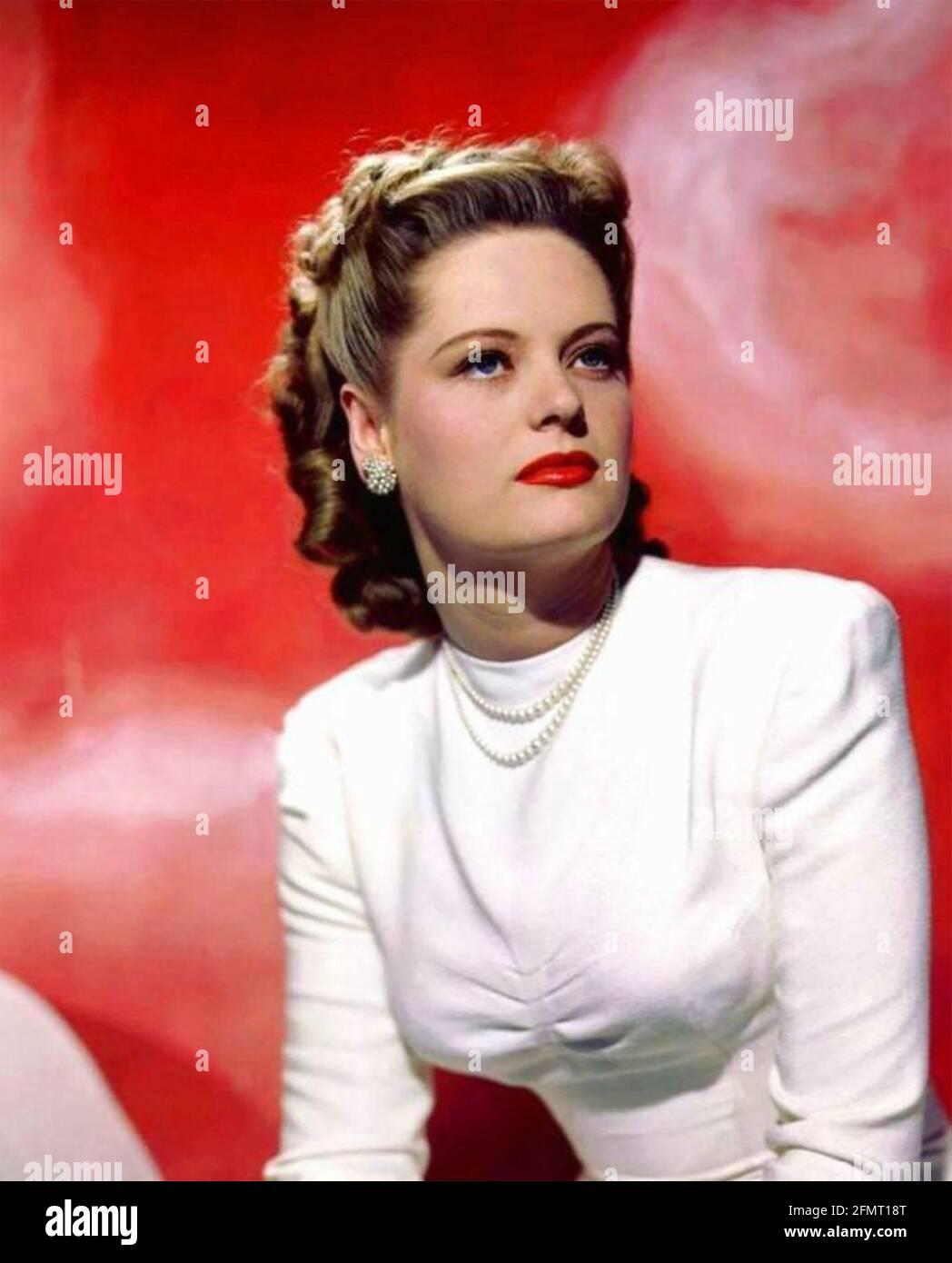 ALEXIS SMITH (1921-1993) actrice américaine vers 1943. Photo: StarPix Banque D'Images