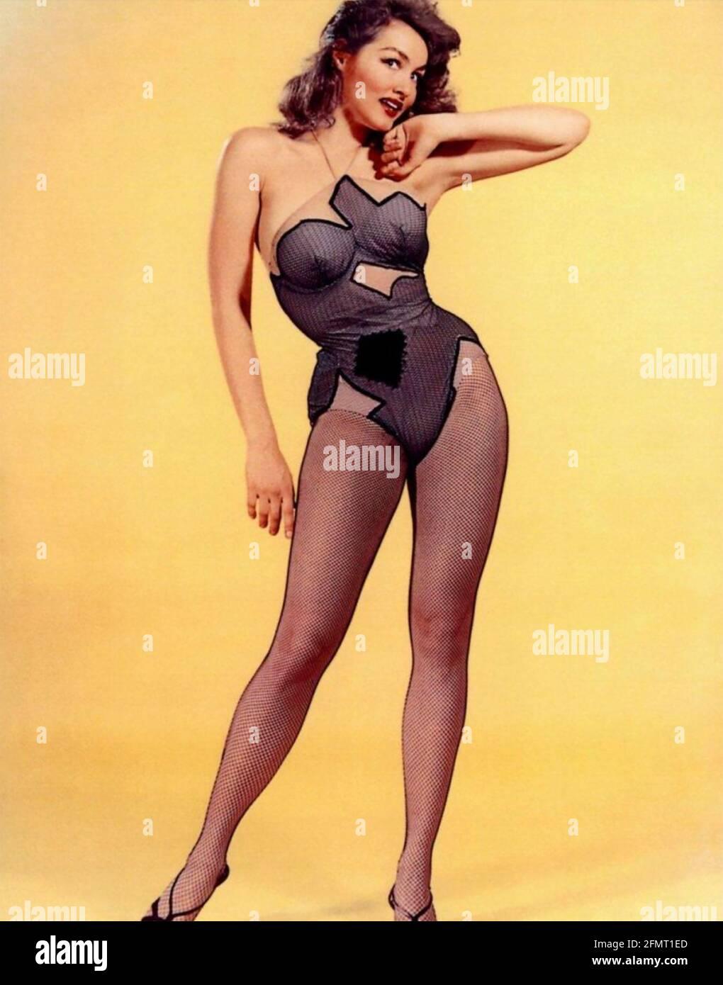 LI'L ABNER 1959 Paramount Pictures film avec Julie Newmar comme Stupefyin' Jones. Photo: Graphic House Banque D'Images