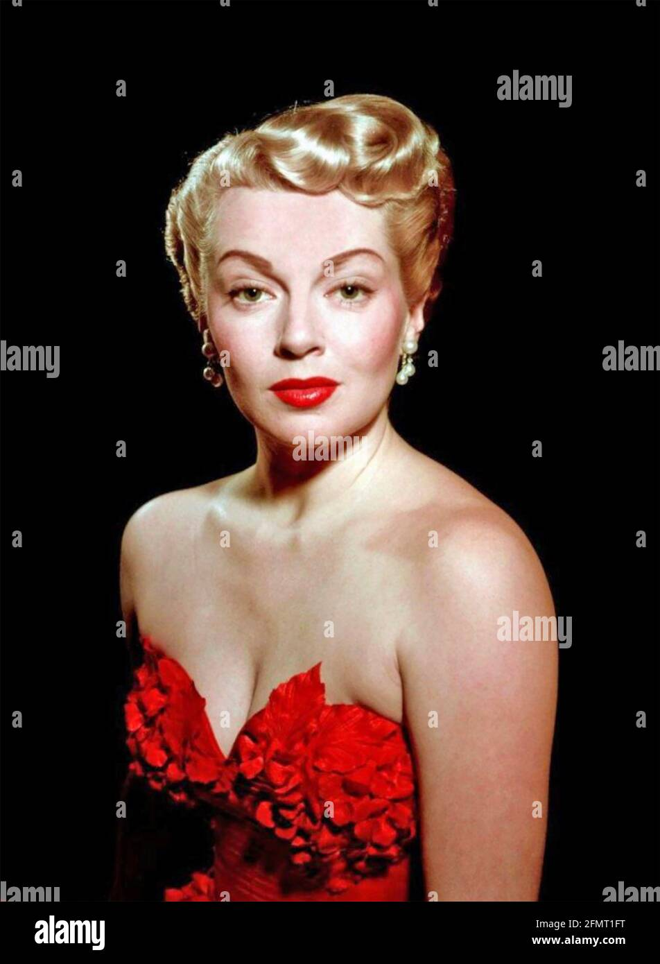 LANA TURNER (1921-1995) actrice américaine vers 1947 Banque D'Images