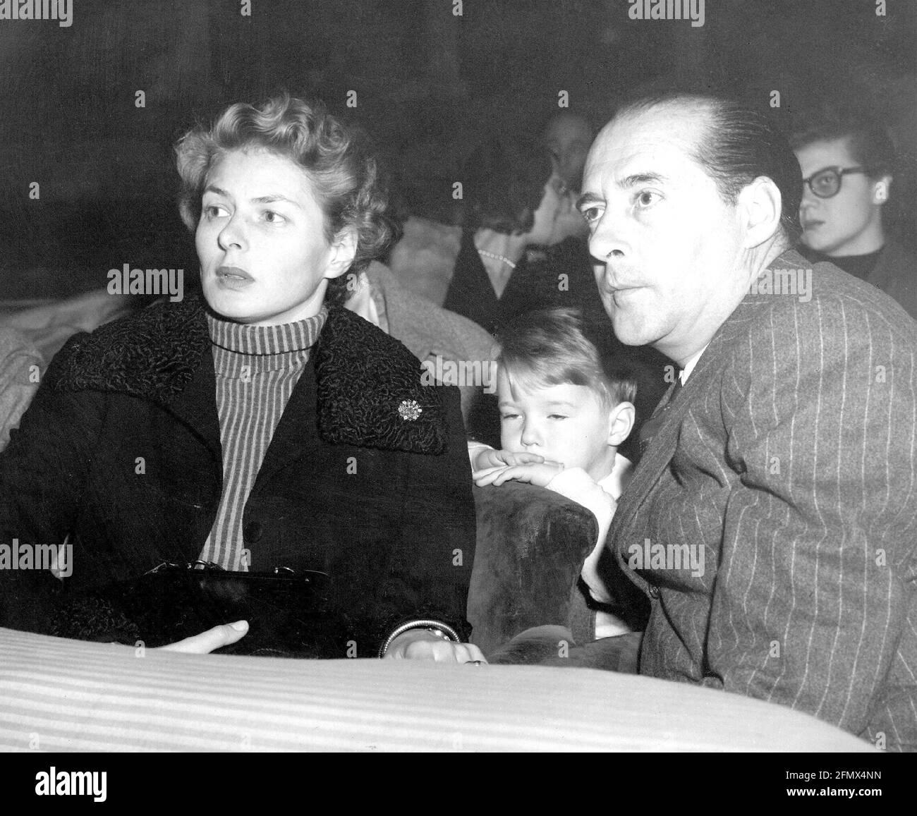 Bergman, Ingrid, 29.8.1915 - 29.8.1982, actrice suédoise, DROITS-SUPPLÉMENTAIRES-AUTORISATION-INFO-NON-DISPONIBLE Banque D'Images