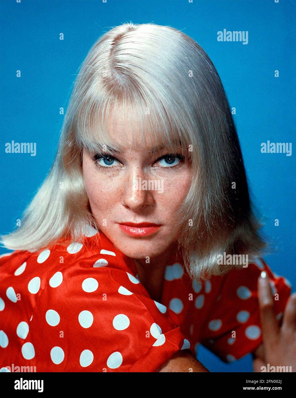 MAY BRITT actrice suédoise de film vers 1965 Banque D'Images