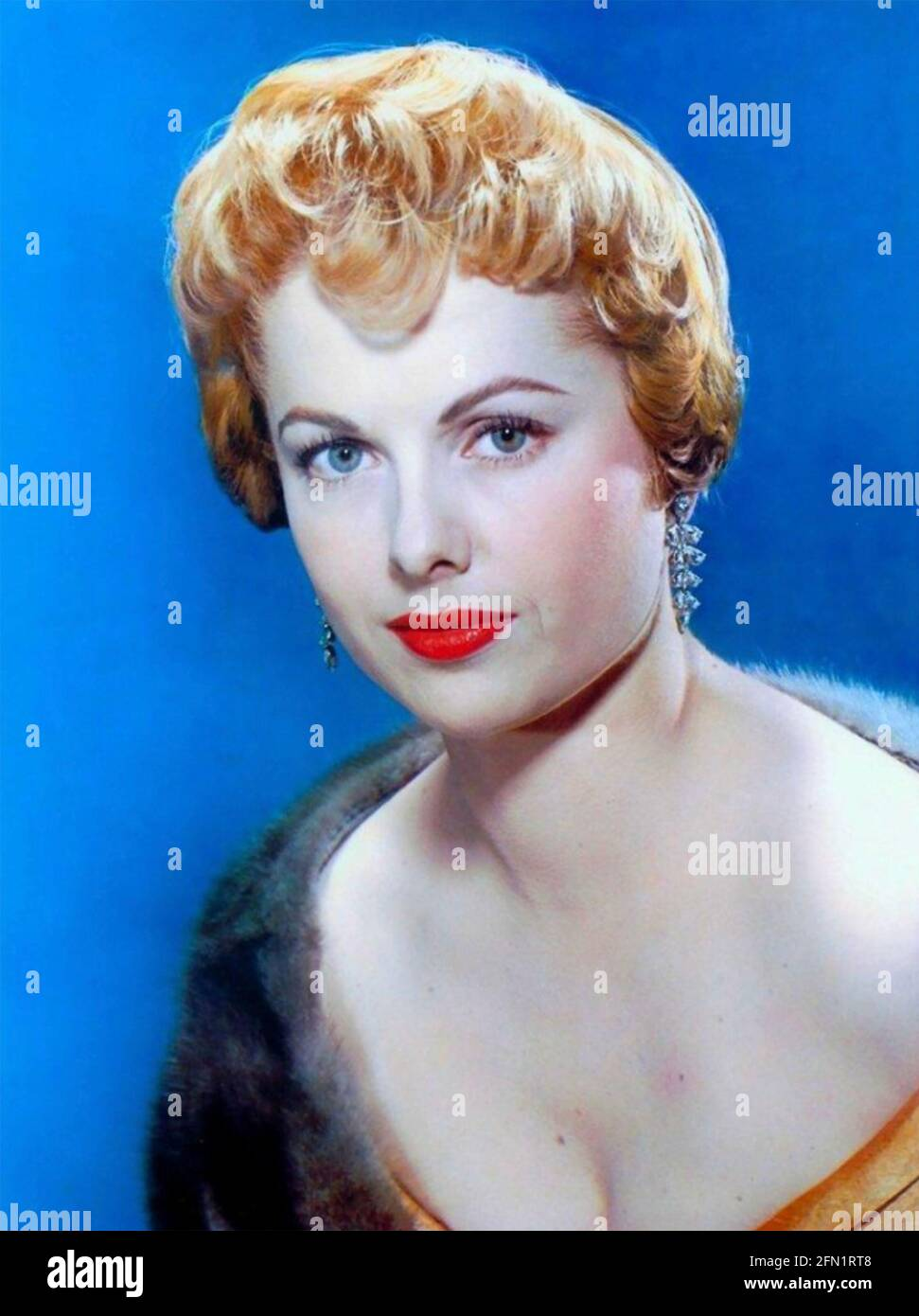 MARTHA HYER (1924-2014) actrice américaine vers 1954 Banque D'Images