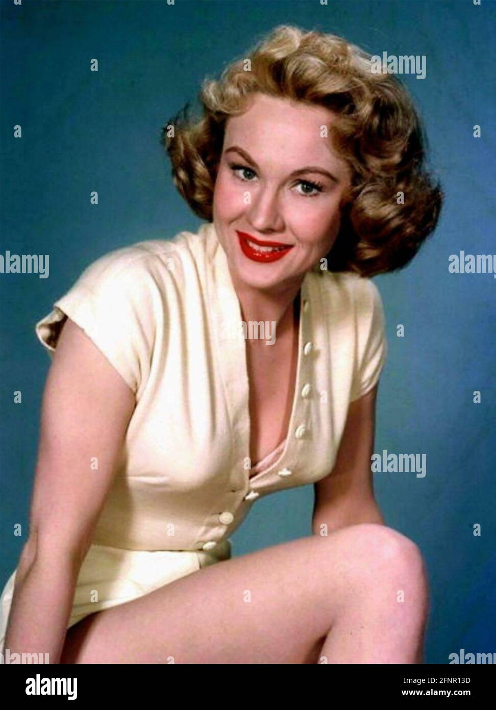 VIRGINIA MAYO (1920-2005) actrice américaine de film vers 1955 Banque D'Images