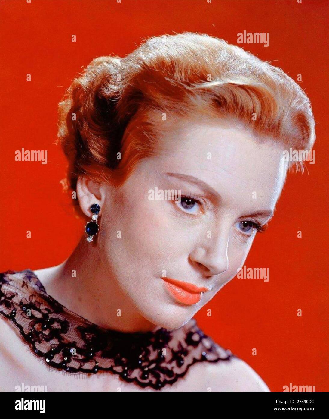 DEBORAH KERR (1921-2007) actrice écossaise vers 1968 Banque D'Images