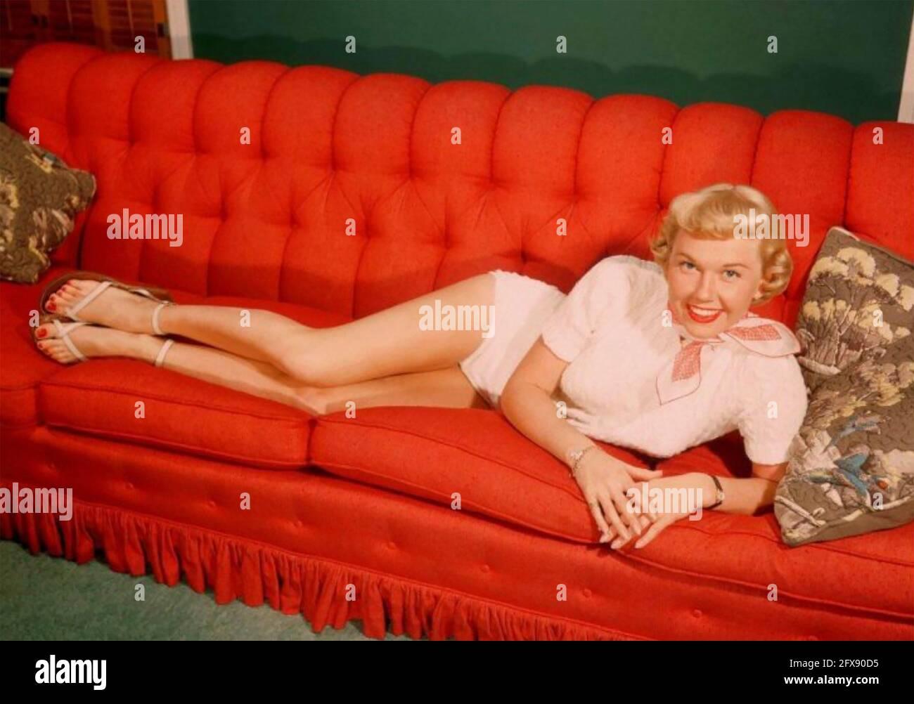 DORIS DAY (1922-2019) actrice et chanteuse américaine vers 1957 Banque D'Images