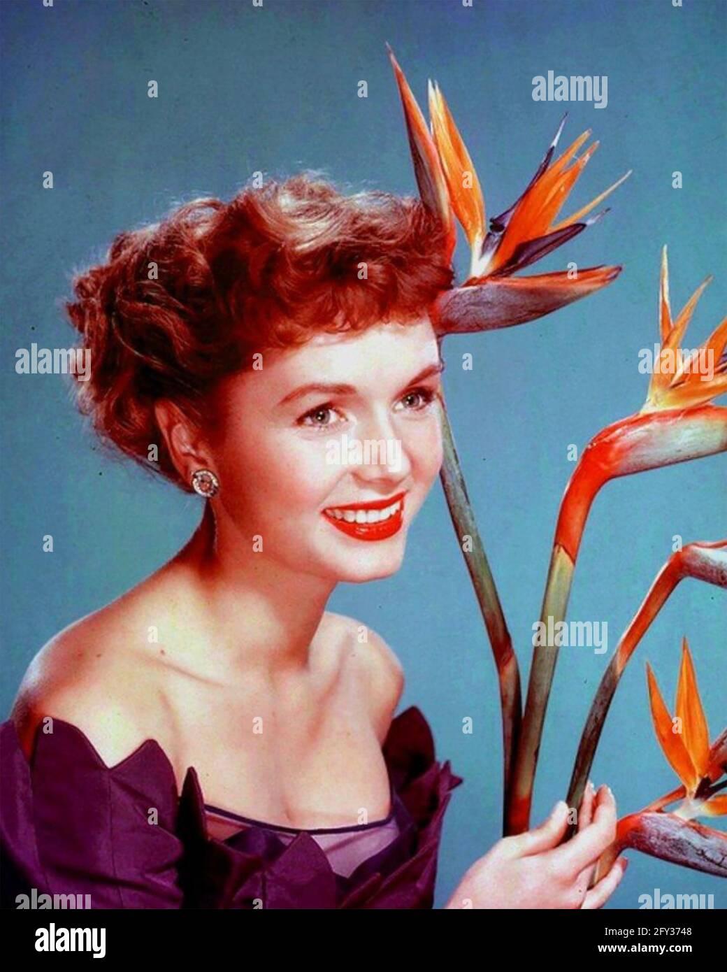 DEBBIE REYNOLDS (1932-2016) actrice et chanteuse américaine vers 1958 Banque D'Images