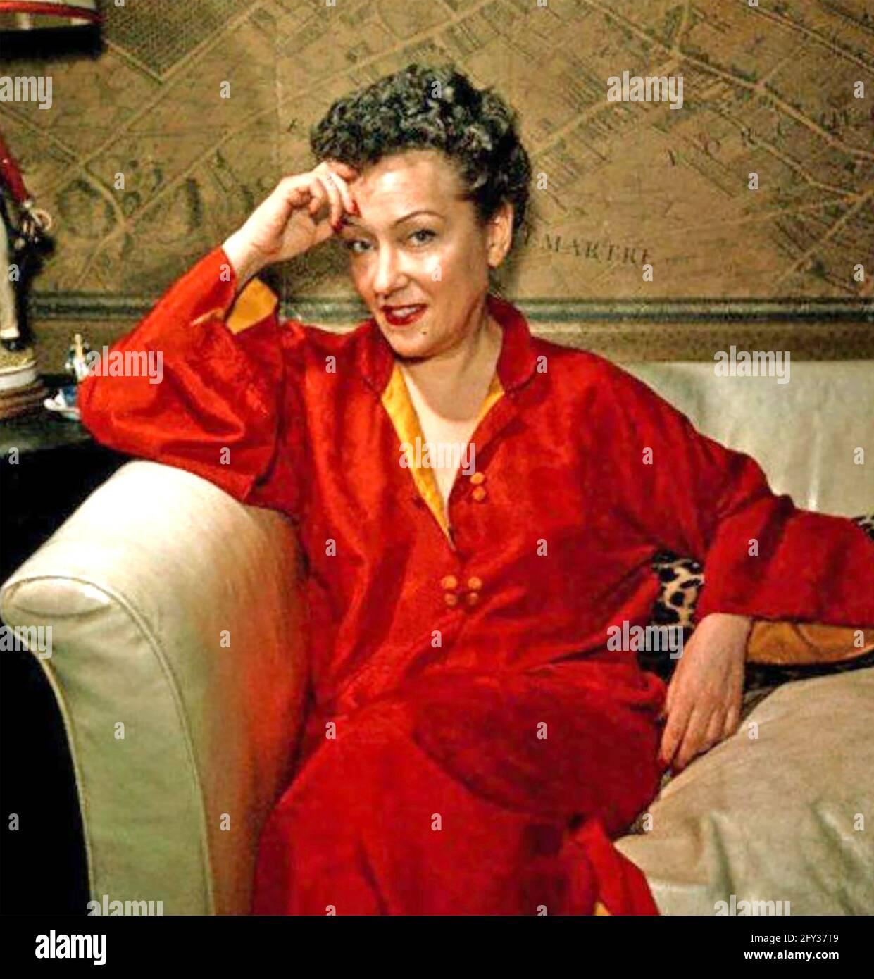 GLORIA SWANSON (1899-1983) actrice américaine vers 1950 Banque D'Images