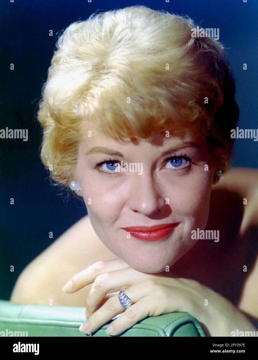 PATTI PAGE (1927-2013) chanteuse et actrice américaine vers 1960 Banque D'Images