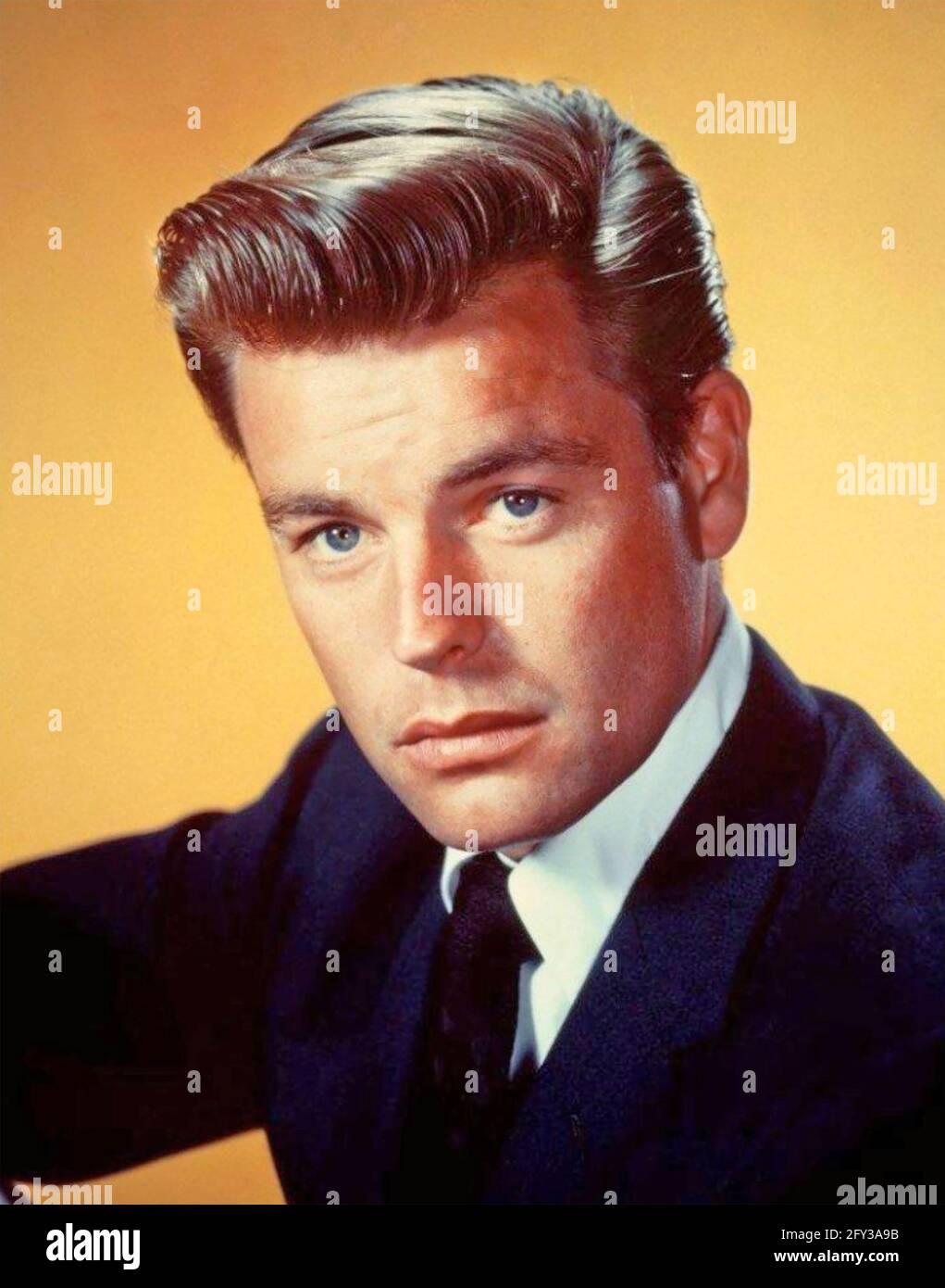 ROBERT WAGNER acteur américain de cinéma et de télévision vers 1960 Banque D'Images