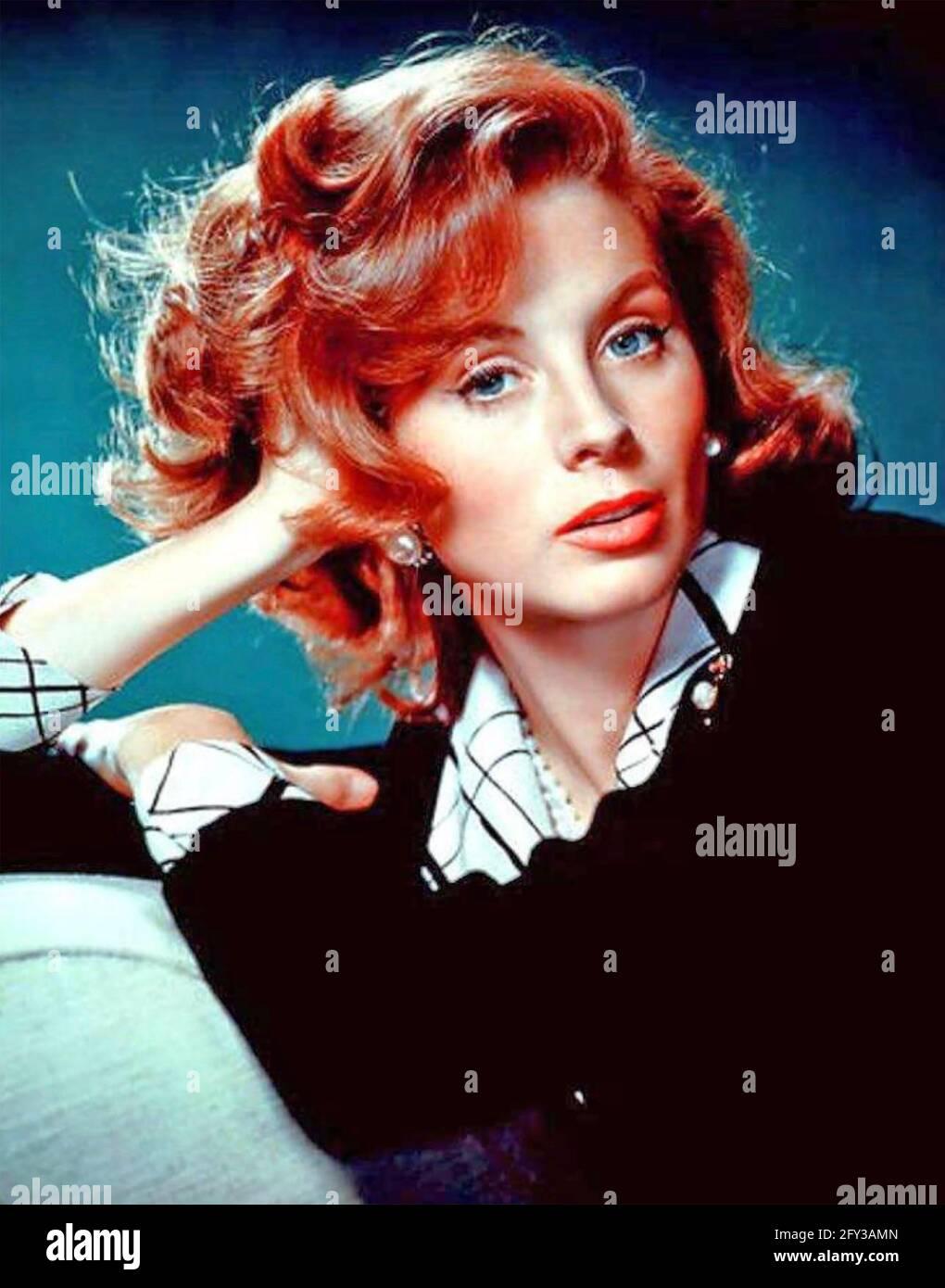 SUZY PARKER (1932-2003) modèle américain et actrice de film vers 1964 Banque D'Images