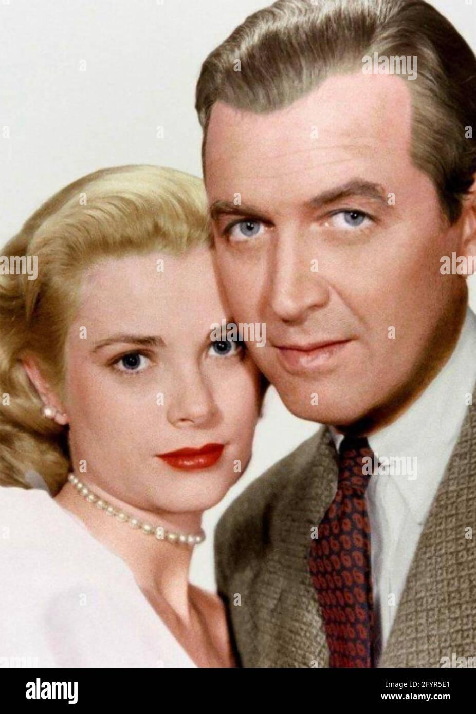 LUNETTE arrière 1954 Paramount Pictures film avec Grace Kelly et James Stewart Banque D'Images