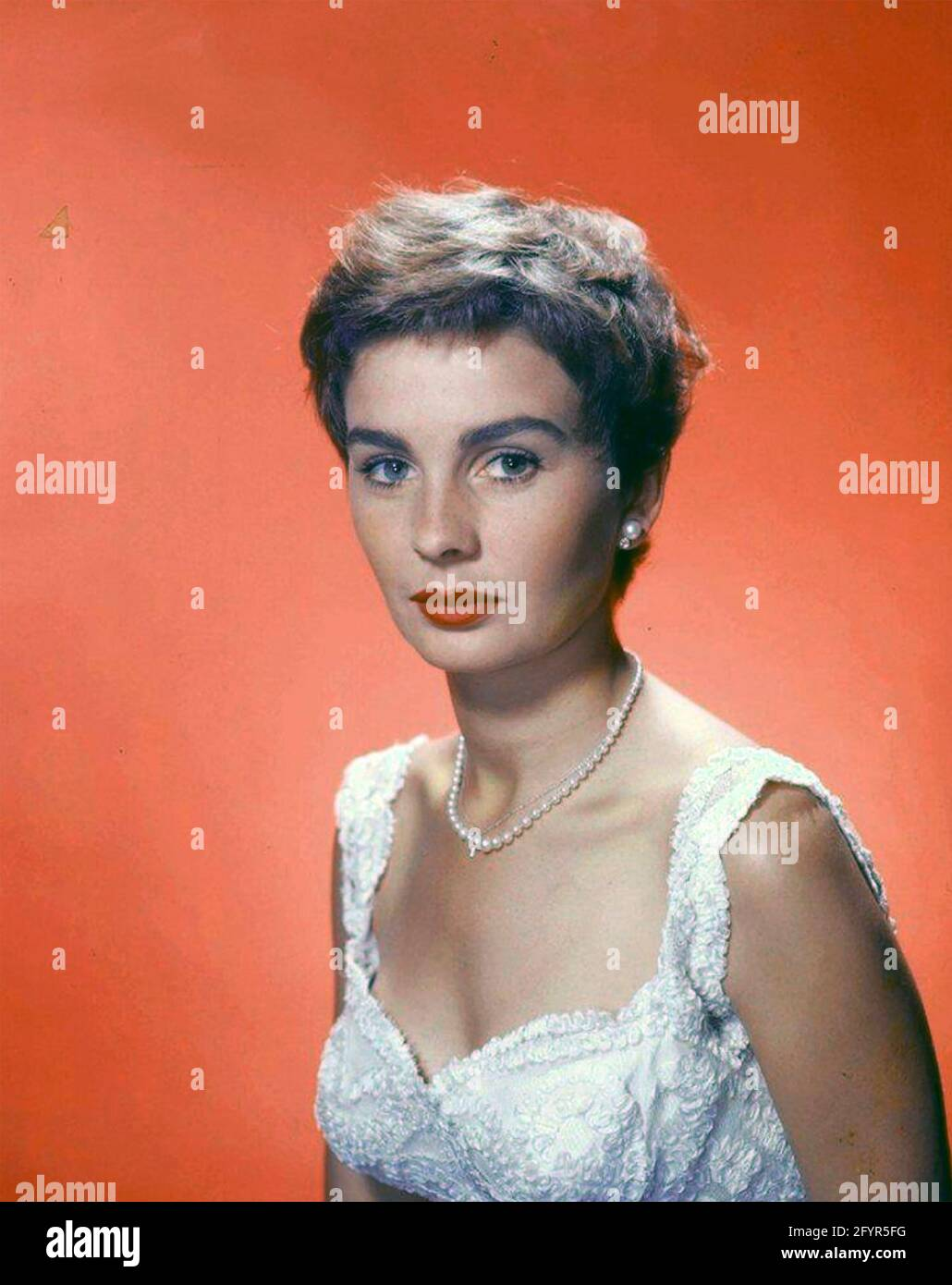JEAN SIMMONS (1929-2010) actrice anglaise vers 1960 Banque D'Images