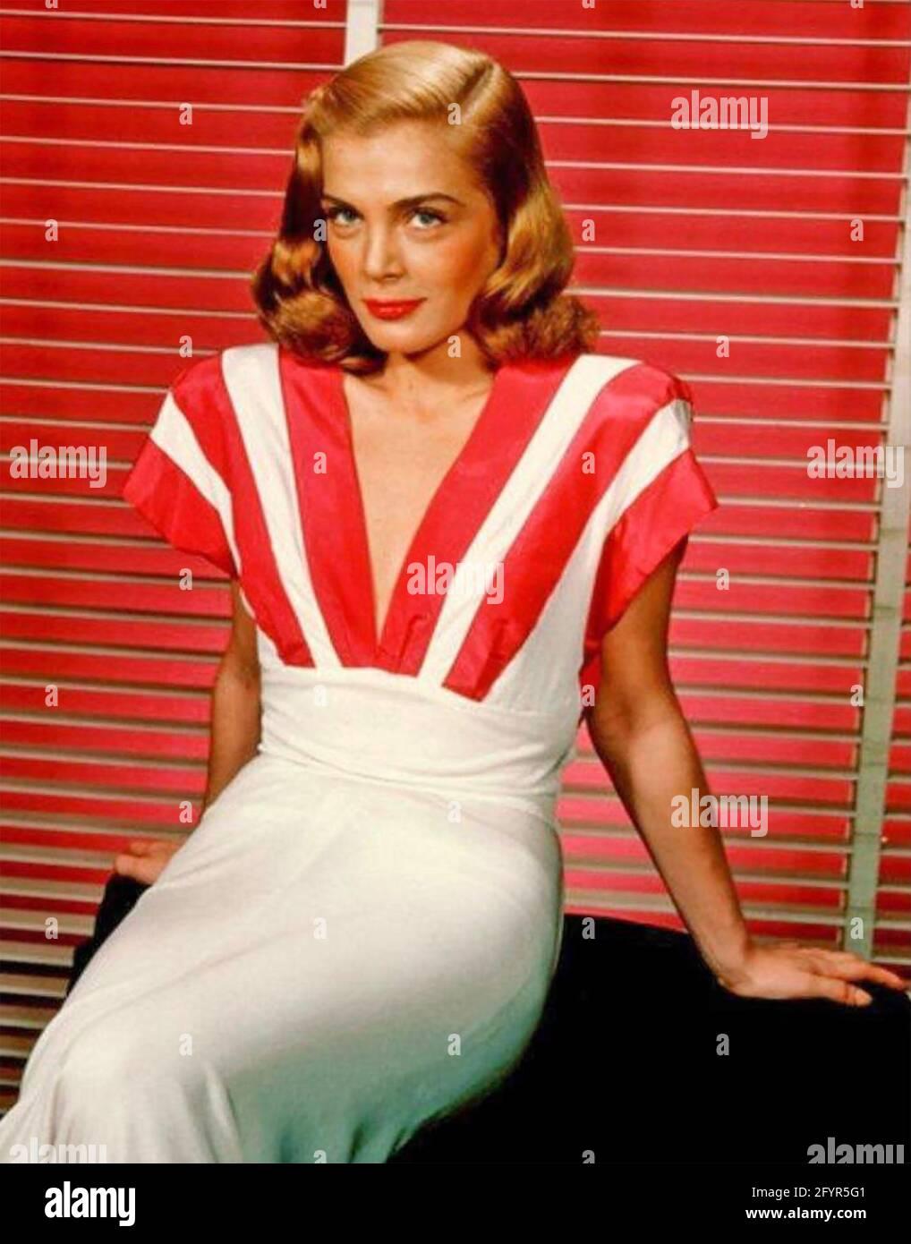 LIZABETH SCOTT (1922-2015) actrice américaine vers 1947 Banque D'Images