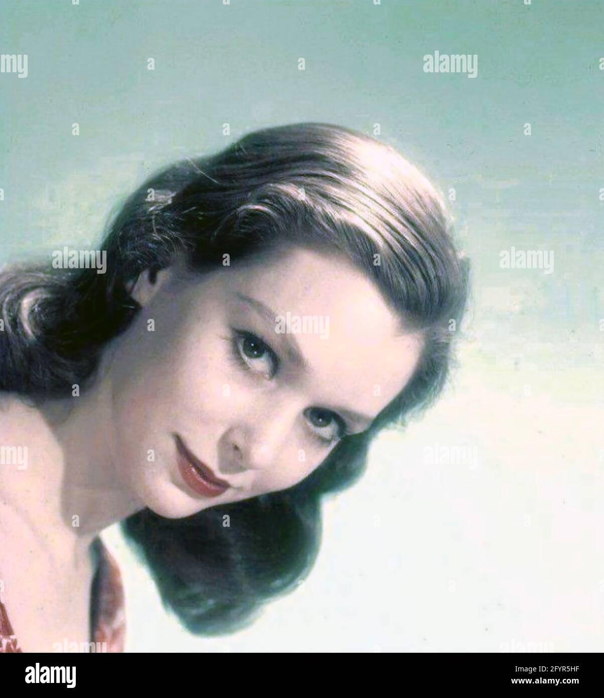 SUSAN STRASBERG (19348-1999) actrice américaine de scène et de film vers 1965 Banque D'Images
