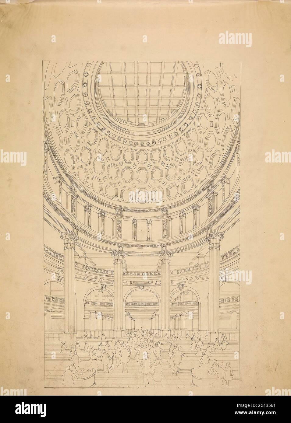 Auteur: D.H. Burnham & Co. T. Eaton Department Store, Toronto, Canada, Interior court perspective - 1912 - D. H. Burnham & Co. American, 1891-1912. Banque D'Images