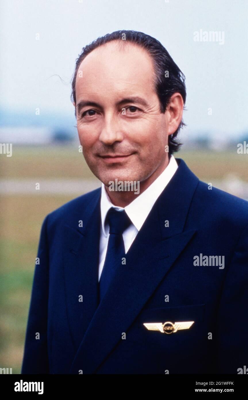 Air Albatros, Fernsehserie, Deutschland 1993, Darsteller: Rene Schoenenberger Banque D'Images