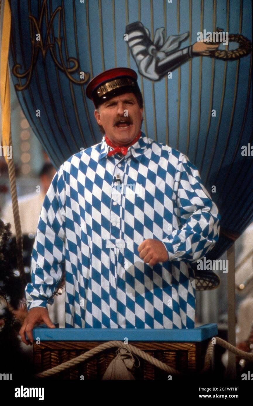 -?- BEI 'Fröhlich eingeschenkt' ARD 1994 Banque D'Images