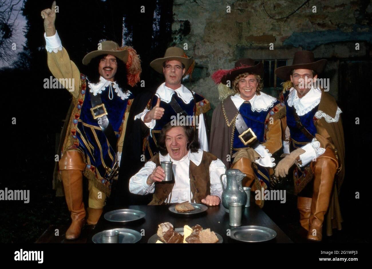 Gäste BEI 'Fröhlich eingeschenkt' 1993 Sendung vom 12.02.1993 Banque D'Images