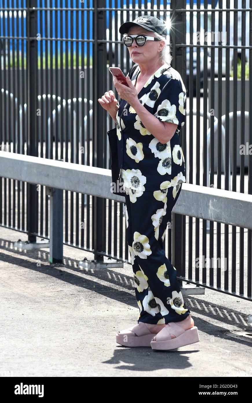 New York, NY, États-Unis. 9 juin 2021. Debbie Harry aux arrivées du Tribeca Festival déjeuner de bienvenue - 2021 Tribeca Festival, Pier 76, New York, NY 9 juin 2021. Crédit : Kristin Callahan/Everett Collection/Alay Live News Banque D'Images