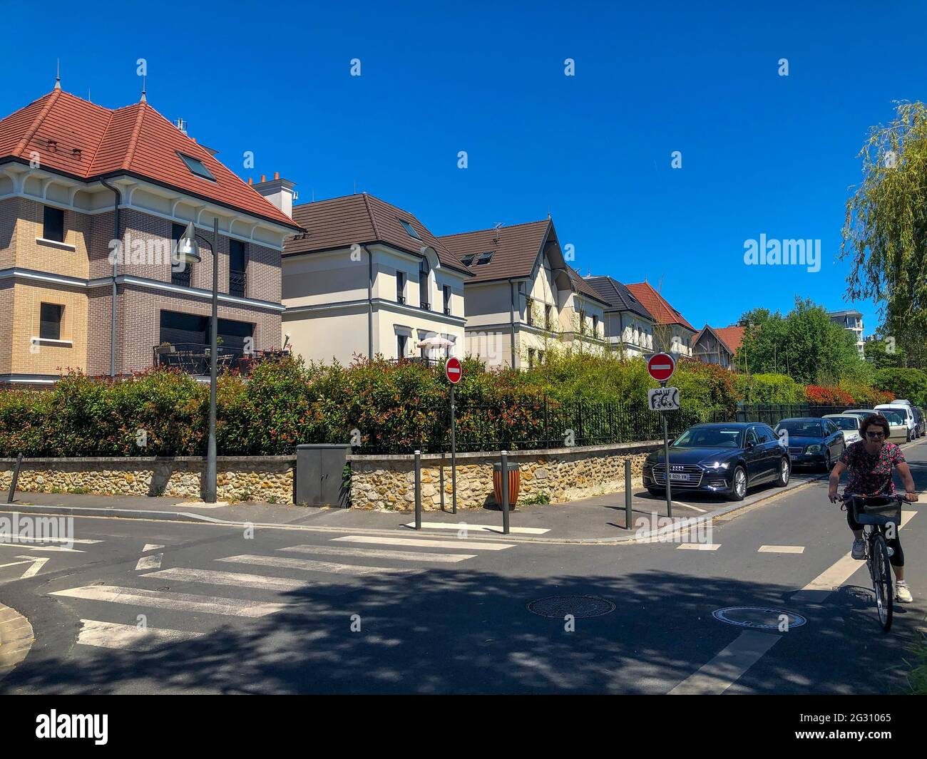 Paris, France, banlieue, scènes de rue, logement, Le Perreux-sur-Marne Banque D'Images